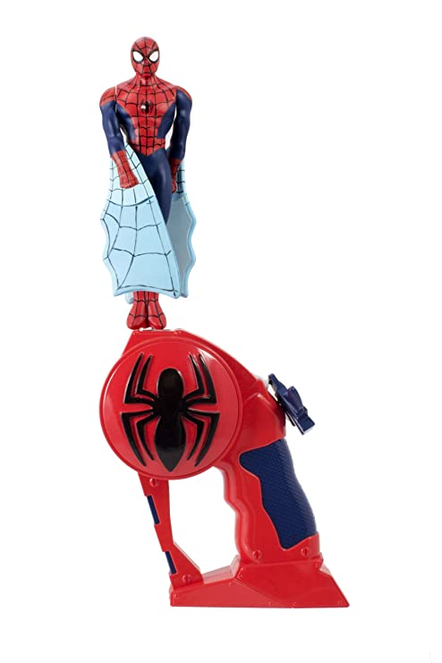 Amazon.com: The Bridge Direct Flying Heroes Spider-Man Action Figure ...