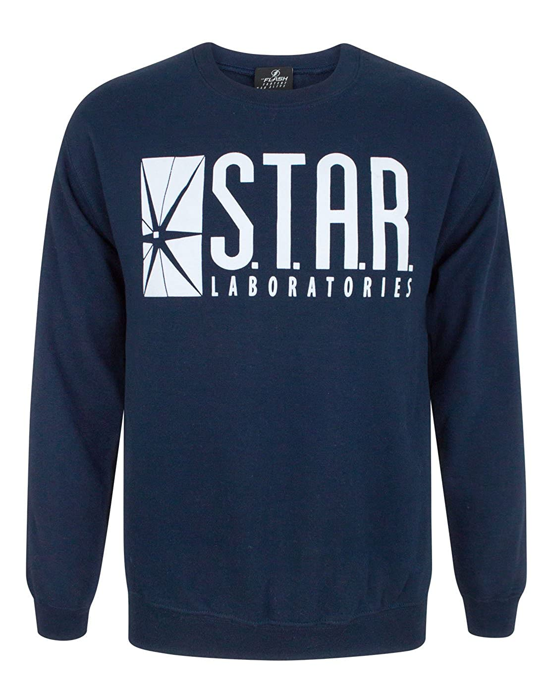 The Flash TV Series STAR Laboratories Unisex Adulte Pull Official