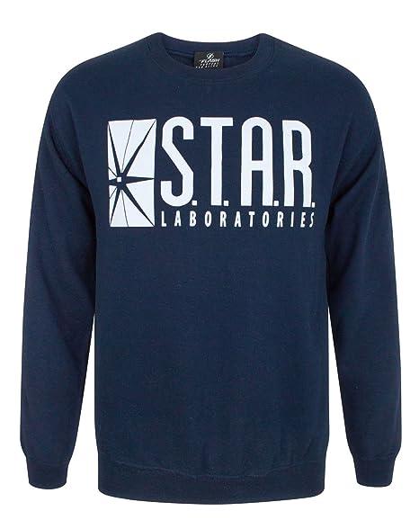 DC Comics Flash TV Star Laboratories Unisex Sweater