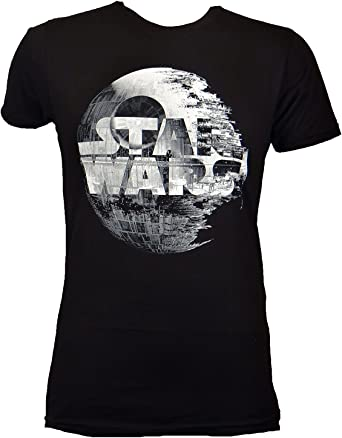 Star Wars Death Star Logo Camiseta Negra para Hombre | S ...