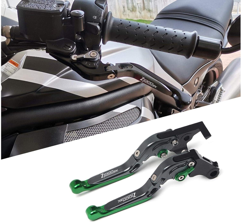 MNWYMCMF CNC Adjustable Motorcycle Brake Clutch Levers,For Kawasaki Z1000SX //Tourer 2017 2018