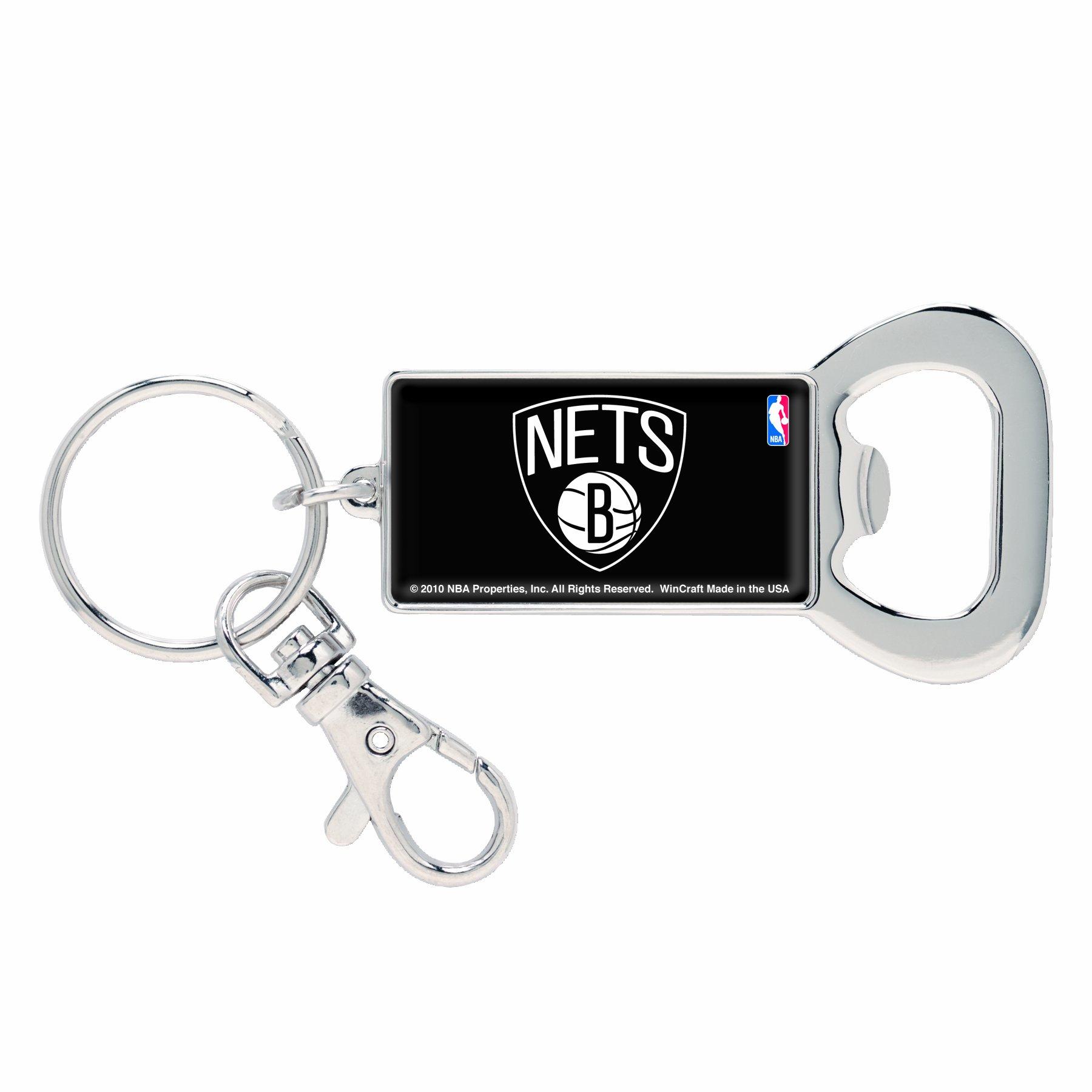 NBA Brooklyn Nets Bottle Opener Key Ring by WinCraft