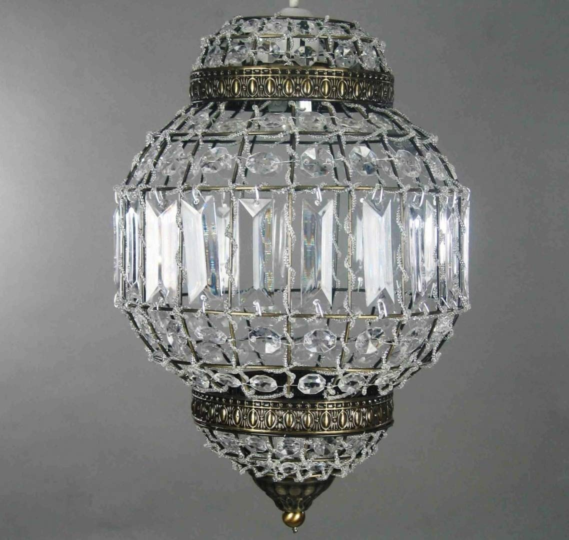 morrocan style lighting. Classic Morrocan Lantern Style Antique Brass Clear Acrylic Ceiling Light Shade Easy Fit Pendant Lighting