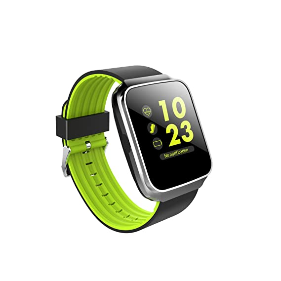 Hangang Fitness Tracker Bluetooth Smart Watch Sports Bracelet Activity Tracker SmartBand Z40 Colorful Display Waterproof for Android/iOS Heartrate ...