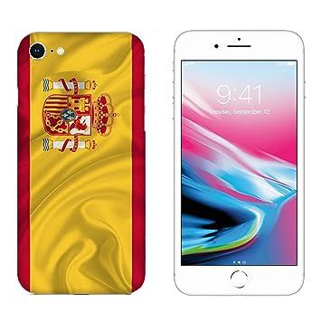 73182a6b039 Funda iPhone 6 Carcasa Apple iPhone 6 Banderas de la ciudad España /  Cubierta Imprimir también en los lados / Cover Antideslizante  Antideslizante ...