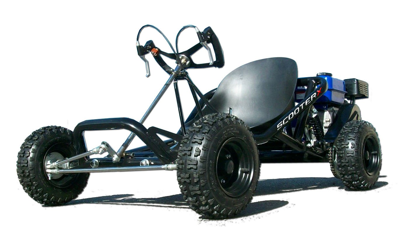 Amazon.com: Go Kart ScooterX Sport Kart Go Cart 163cc 6.5hp: Toys ...