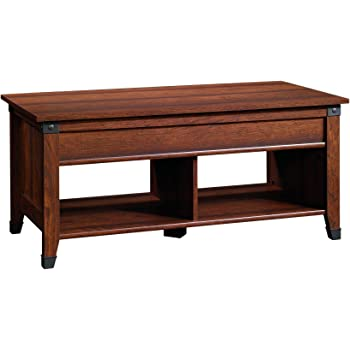 Amazon Com Sauder Carson Forge Lift Top Coffee Table