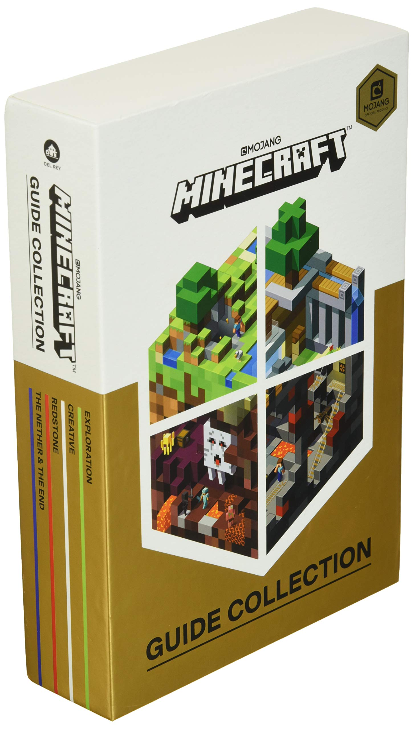 Minecraft: Guide Collection 10-Book Boxed Set: Exploration