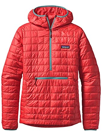 f45a12eff Patagonia Snow Jacket Women Nano Puff Bivy Pullover Jacket: Amazon ...