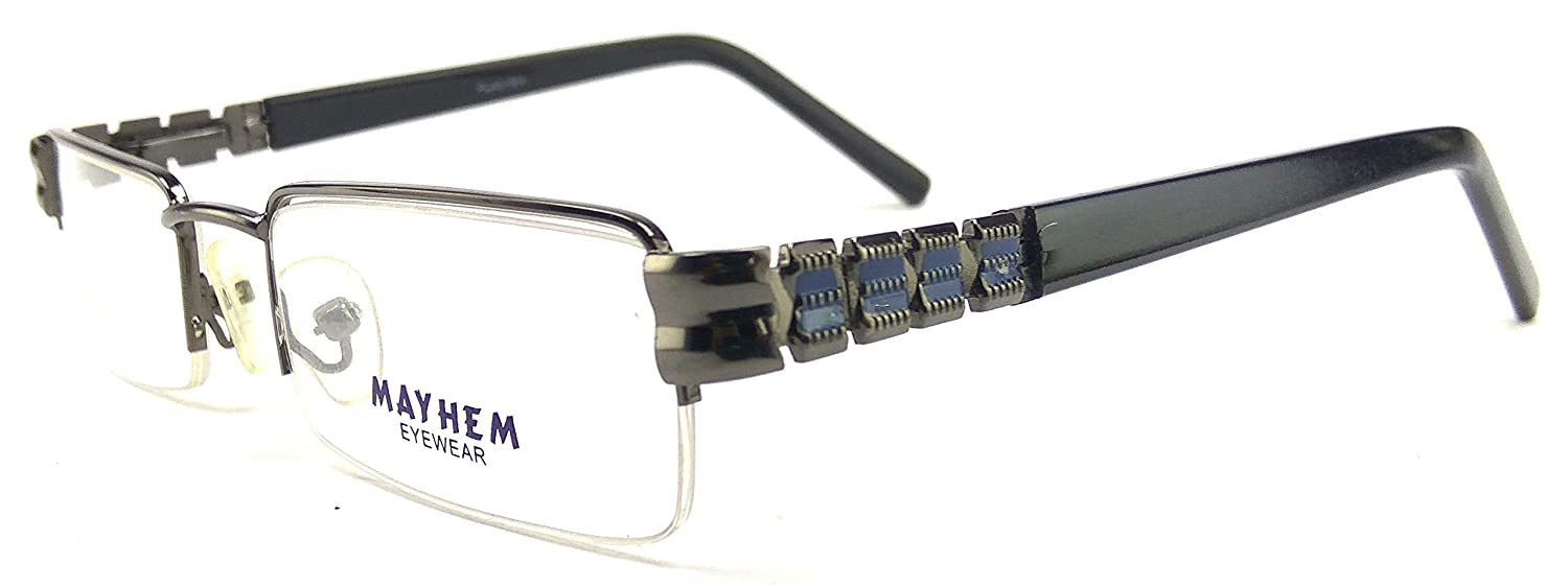 e270973f23 141 - Nayan iCare new look branded rectangular semi rimless spectacles  frames for women stylish