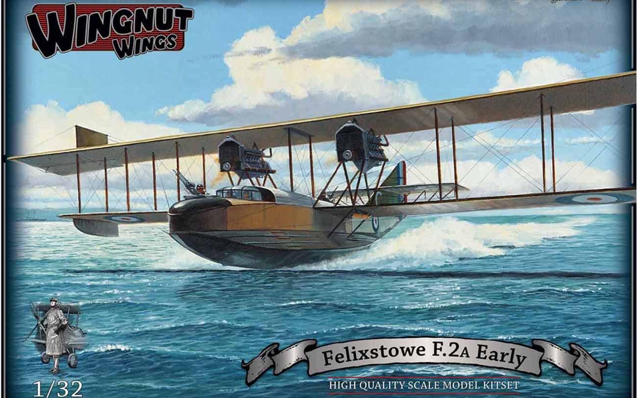 Wingnut Wings Wingnut 32050 - Juego de Accesorios para modelar Felixstowe F.2A Early (Escala 1:32)