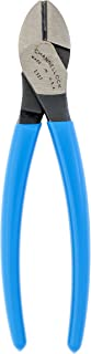 product image for Channellock E337 E Series 7-Inch Diagonal Cutting Plier with Lap XLT Joint and Code Blue Grips
