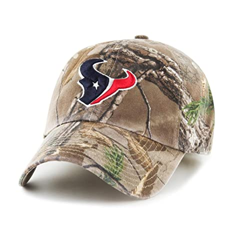 buy online 3ba0a 56c4b ... cheapest nfl 47 brand houston texans clean up adjustable hat realtree  camo a1b91 a1d4e