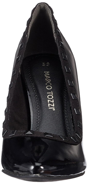 MARCO TOZZI Damen 22449 Pumps Schwarz (schwarz (schwarz (schwarz Pat.comb) cbfc8b