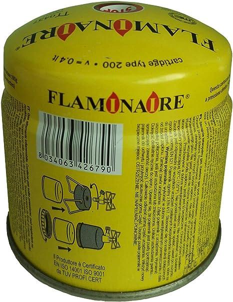 Flaminaire - Cartucho para bombona de Gas butano de 190 g ...