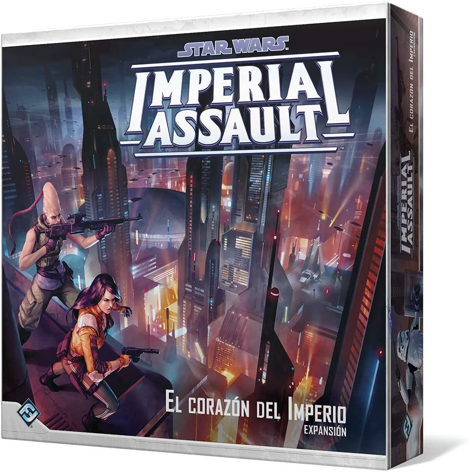 Fantasy Flight Games Star Wars-Imperial Assault: el corazón del Imperio-Español, Color FFSWI46