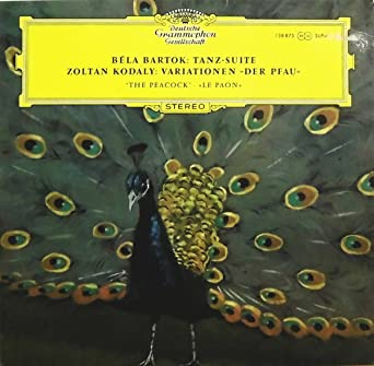 ジェルジ・レーヘル / バルトーク:舞踏組曲;コダーイ:ハンガリー民謡『孔雀』の主題による変奏曲 Gyorgy Lehel : Bartok, Kodaly : Tanz-Suite - Variationen