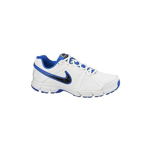 Nike Downshifter 5 LEA - Zapatillas para hombre, color blanco, talla 39
