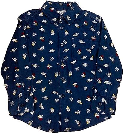 Dinosaur button down boys shirt