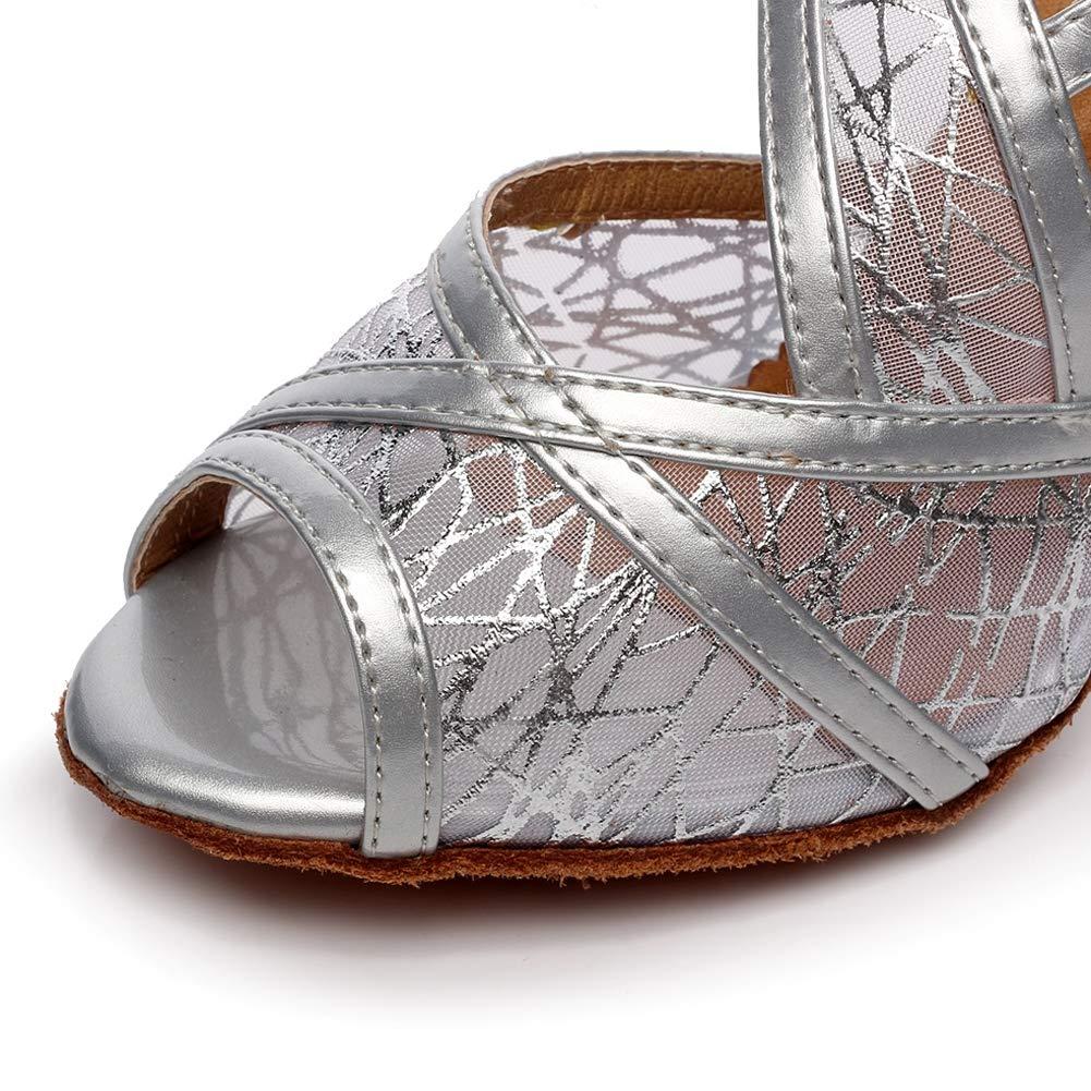XIAOY Leder PU Kreuz Gurt Peep Peep Peep Toe High Heel Latein Tanzschuhe für Damen 8.5CM B07MV3GSJF Tanzschuhe Qualifizierte Herstellung 47d353