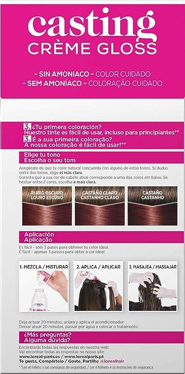 LOréal Paris Casting Crème Gloss Tinte 550 - 100 gr: Amazon ...