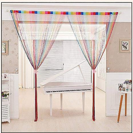 Parfait Sparkle String Panneau//Rideau de Fenêtre//Porte coupé à la taille de qualité supérieure