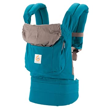 678be850740 Amazon.com  ERGObaby Original Baby Carrier (Teal)  Sports   Outdoors