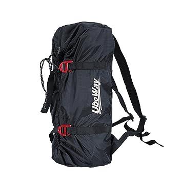 Amazon.com: uboway Rock cuerda de escalada bolsa montañismo ...