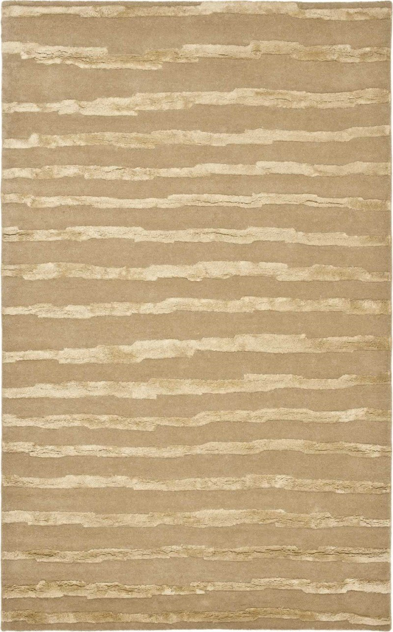 Safavieh Area Rug in Beige and Gold 8 ft. L x 5 ft. W