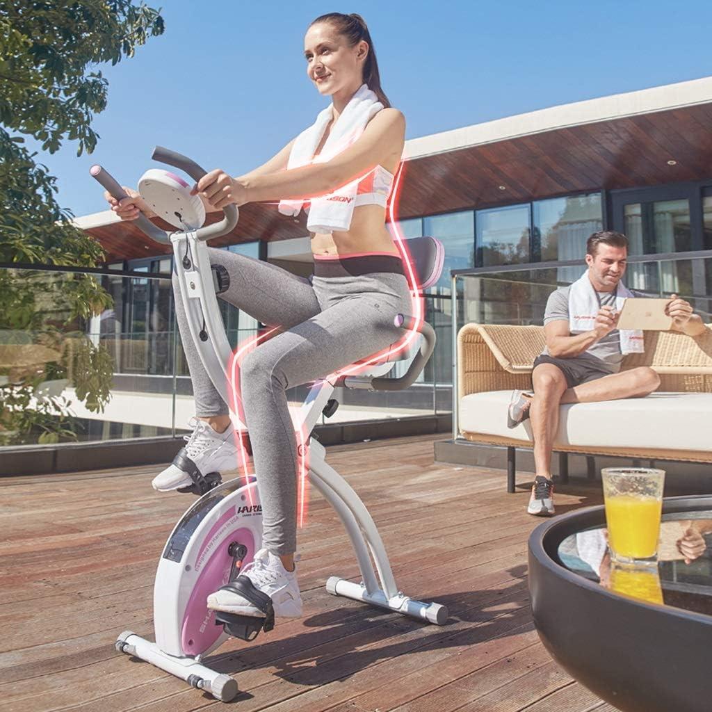 Bicicleta de ejercicios Bicicleta giratoria, magnética para el hogar, Interiores Ultra silenciosa, Spinning Paso a Paso para oficinas, multifuncion: Amazon.es: Deportes y aire libre
