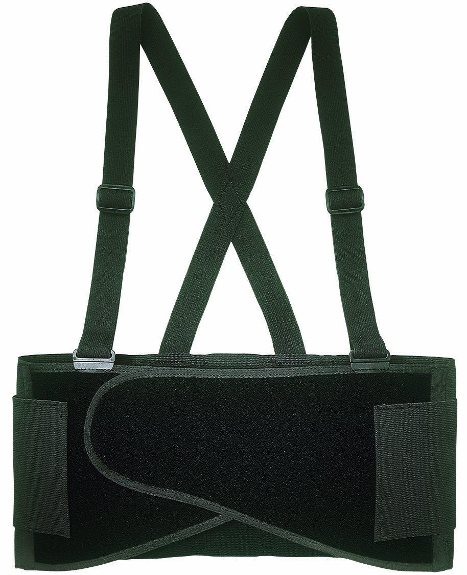 CLC Custom Leathercraft 5000M Elastic Back Support Belt, 32-38 in., Medium