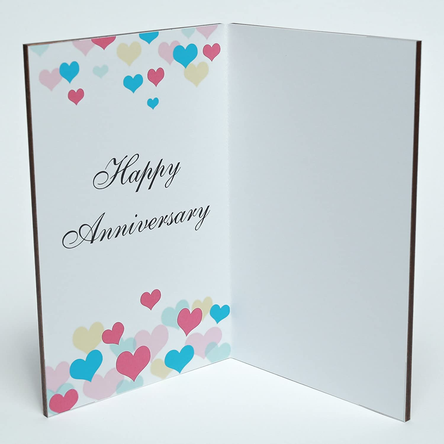 Amazon Happy Anniversary Real Wood Greeting Card With Stand