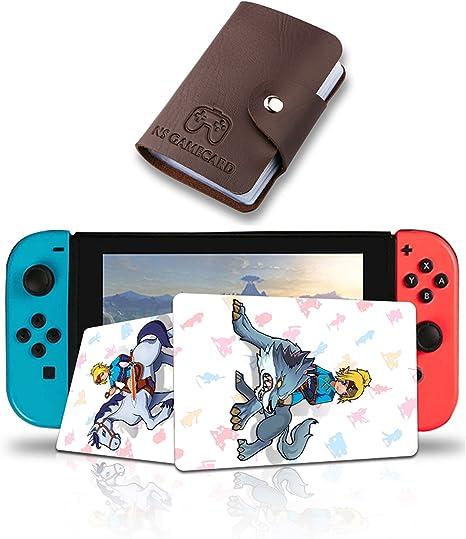 Zelda - Tarjeta para Nintendo Switch, diseño de la leyenda de Zelda Breath of The Wild, NFC: Amazon.es: Videojuegos