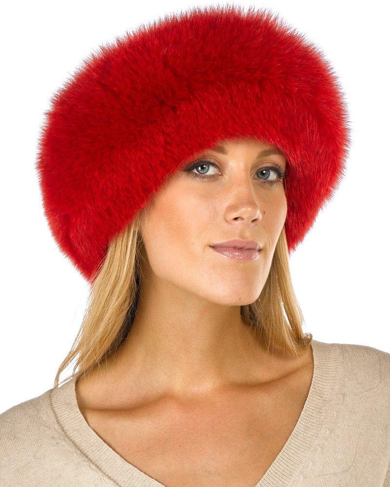 Frr Red Fox Fur Headband