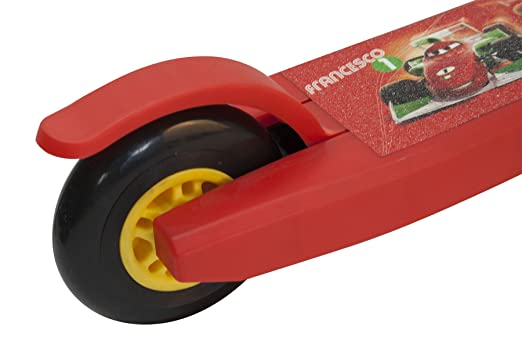 Cars 808883 - Patinete 3 Ruedas para niño, Rojo: Amazon.es ...
