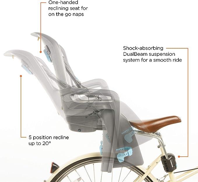 Thule Ride Along - Silla niño para bicicleta, color gris claro, V16: Amazon.es: Deportes y aire libre
