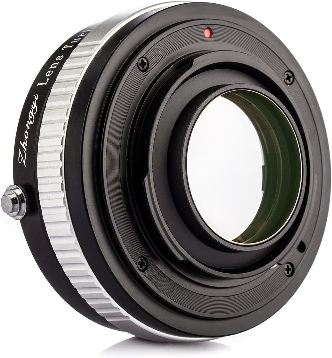 ZhongYi Mitakon Pro Lens Turbo Adapter Version II Nikon nikkor for Fujifilm X Mount Cameras