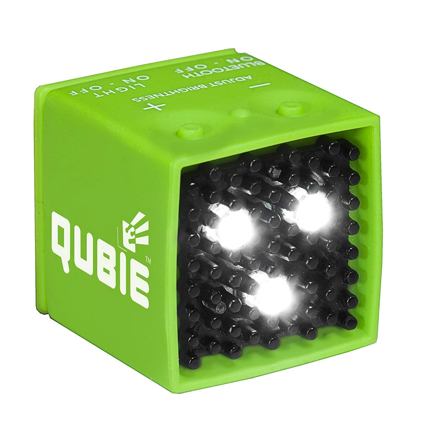 QUBIE - Bluetooth LED Light (Green) for photography and lighting by Streetbeat Studios