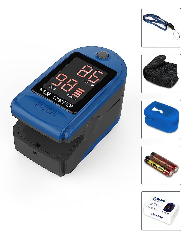Amazon.com: Concord Salud Fuente ead Essentials – Oxímetro ...