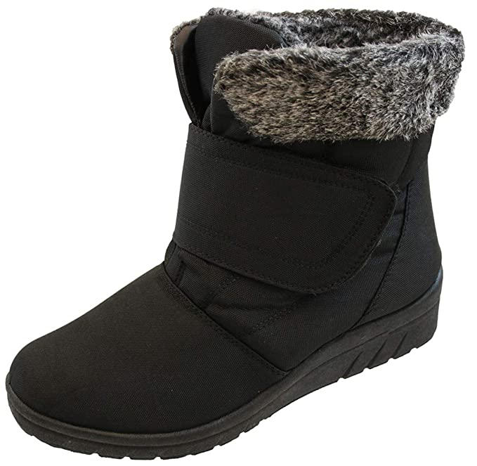 variety styles of 2019 price remains stable quality and quantity assured Ladies Warm Fleece Lined High Top Ankle Boots Size 5