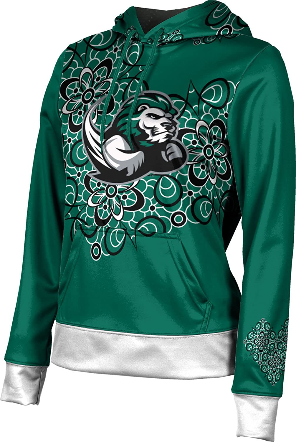 School Spirit Sweatshirt Foxy Slippery Rock University Girls Pullover Hoodie