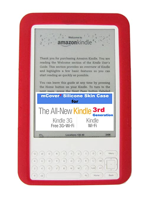 amazon com mcover silicone skin for amazon kindle 3 keyboard model rh amazon com Kindle DX White Kindle Store