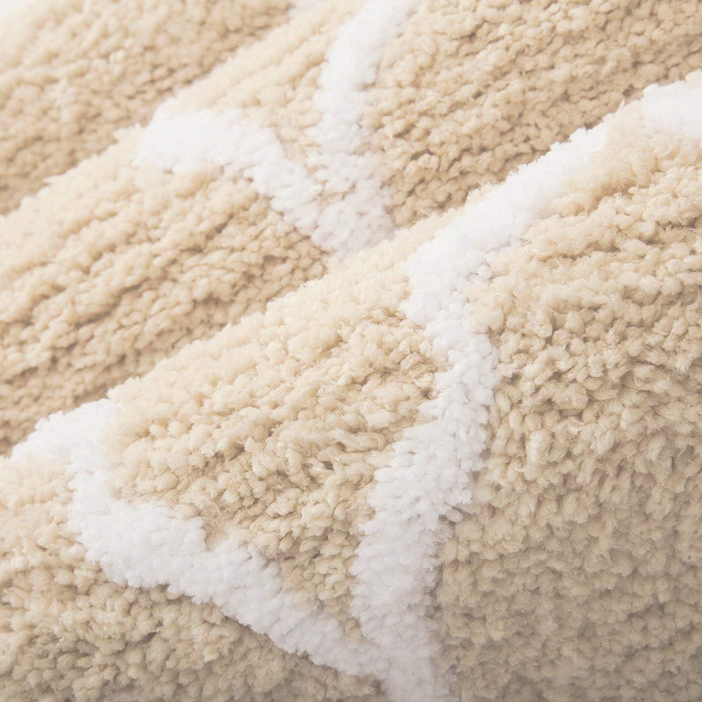 Bath Rug Memory Foam Bathroom Mats Shower Mat Non-slip Carpet Pad Mat 20mm TN