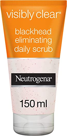 Neutrogena, Visibly Clear, Blackhead Eliminating Daily Scrub, 150ml