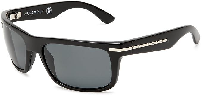Kaenon hombres de Burnet rectangular gafas de sol polarizadas: Amazon.es: Ropa y accesorios