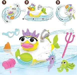 Yookidoo Create a Mermaid Bath Toy, Yellow
