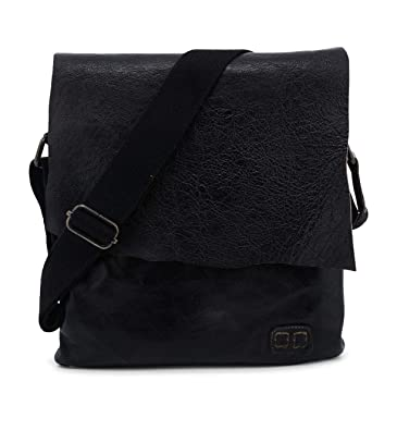 41f118f39e3 Bed|Stu Women's Dixon Leather Crossbody Bag (Black): Handbags ...