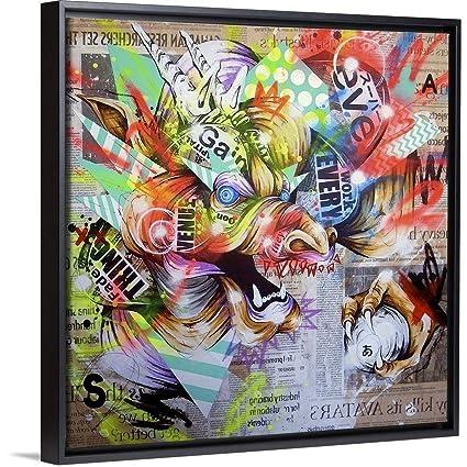 Amazon.com: Taka Sudo Floating Frame Premium Canvas with ...