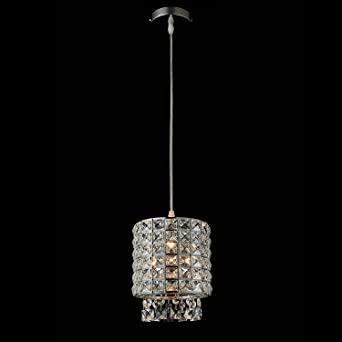 Modern K9 Crystal Chandelier Pendant Light Fixture with 3u0027 Adjustable Clear Cord for Kitchen & Modern K9 Crystal Chandelier Pendant Light Fixture with 3 ... azcodes.com