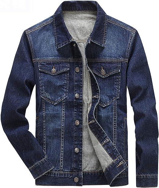 デニム ジャケット かっこいい メンズ ジージャン 綿 春秋 冬 カジュアル 通勤 通学 ブルー/ブラック 全7種類 M/L/XL/2XL/3XL 大きいサイズ